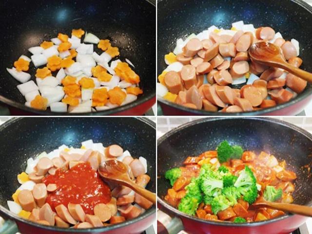 Những món ăn ngon được làm từ xúc xích