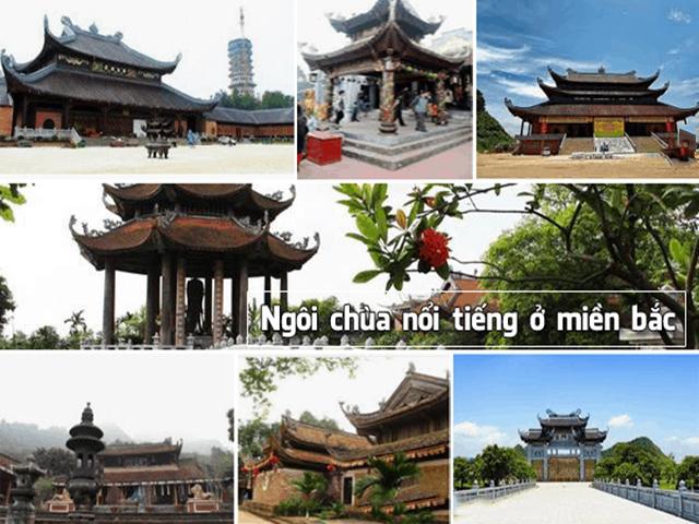 Những ngôi chùa nổi tiếng ở miền Bắc