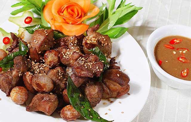 các món ăn được làm từ thịt dê