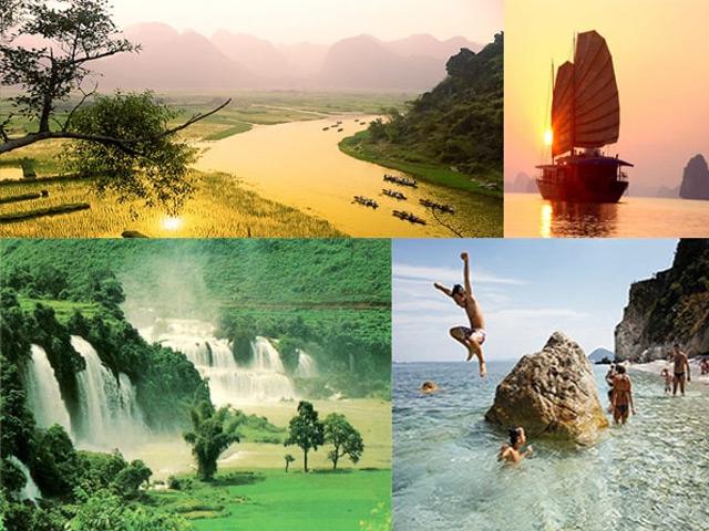 những địa điểm du lịch ở việt nam