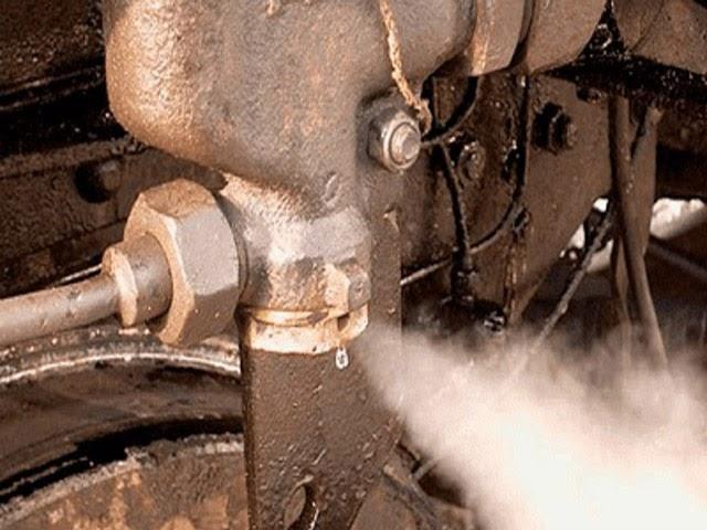 máy nén khí bị dò hơi