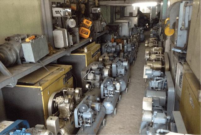 mua máy nén khí cũ