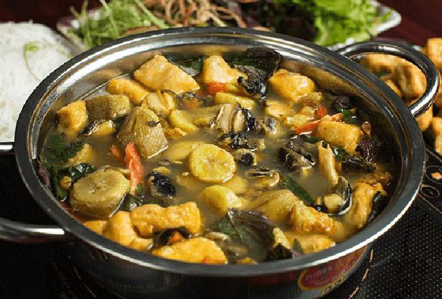 các món ăn làm từ ốc bươu