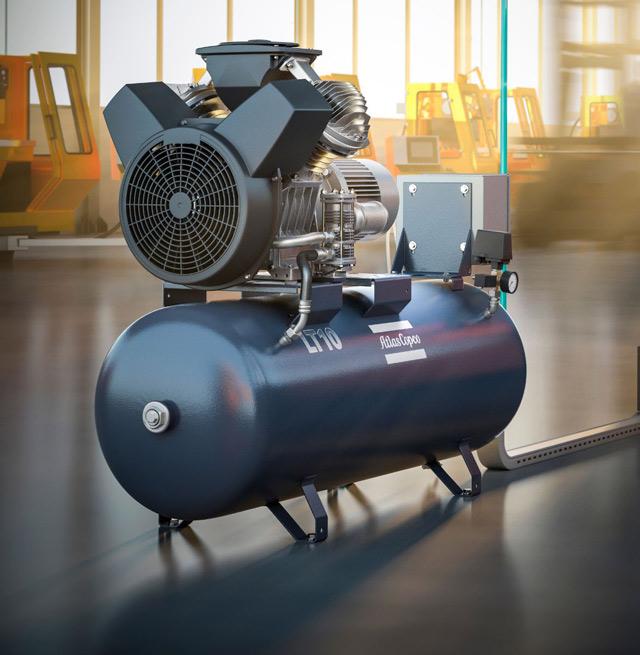 cấu tạo máy nén khí atlas copco