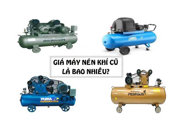 Máy nén khí đã qua sử dụng giá bao nhiêu?