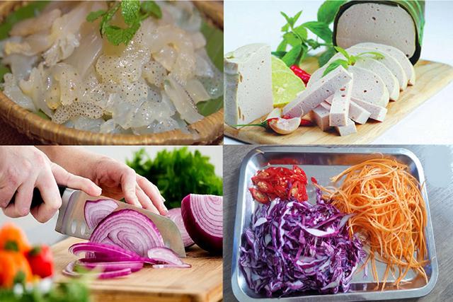 cách chế biến các món ăn từ sứa
