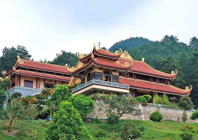 Ngôi chùa ở miền Bắc