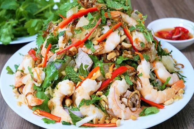 các món ăn từ sứa biển