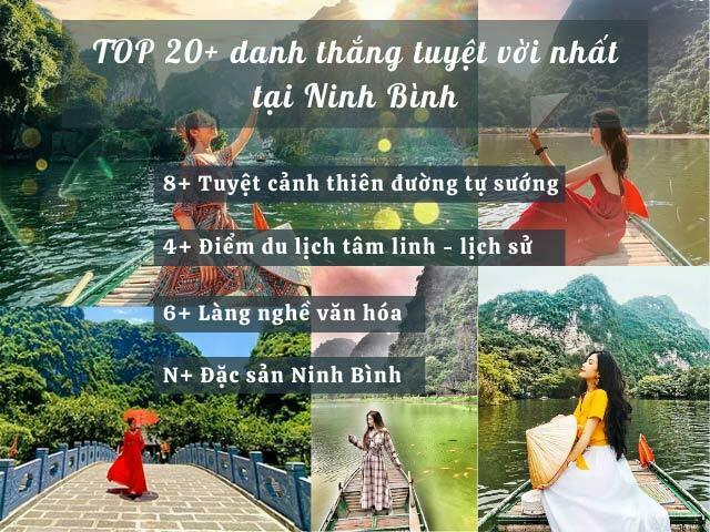 Ninh Bình có những điểm du lịch nào