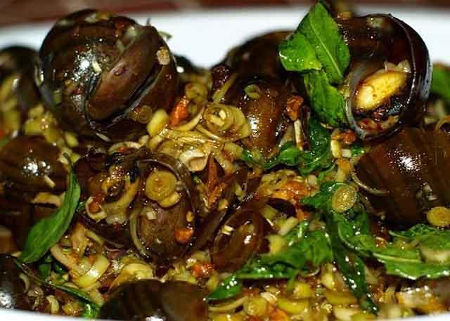 cách chế biến các món ăn từ ốc bươu