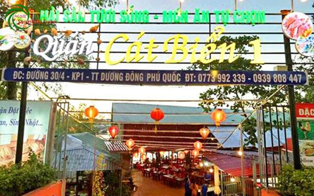 quán hải sản ngon ở phú quốc