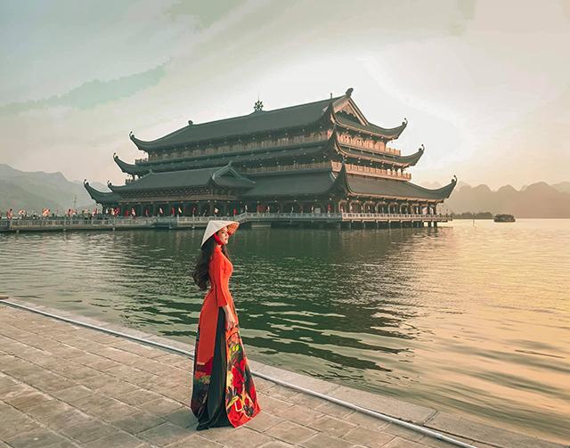 Tham quan ngôi chùa nổi tiếng ở miền Bắc