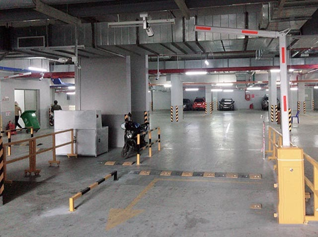 Cổng barrier tay gập bs306