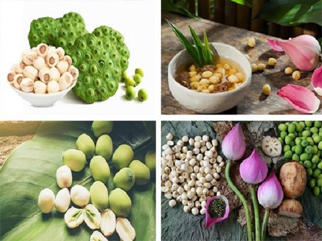 Các món ăn từ hạt sen