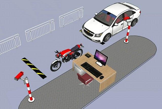Mô hình bãi giữ xe thông minh