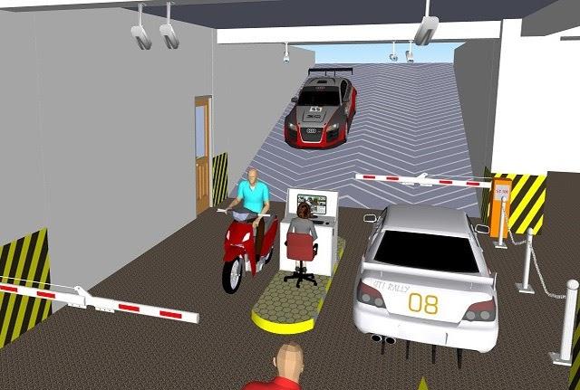 Mô hình gửi xe thông minh