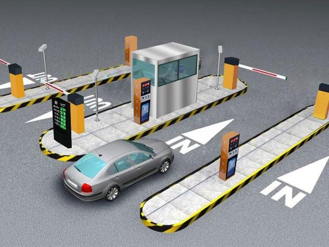Mô hình giữ xe thông minh