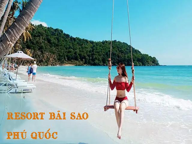 Resort Bãi Sao Phú Quốc - một trong những resort đẹp nhất ở Phú Quốc
