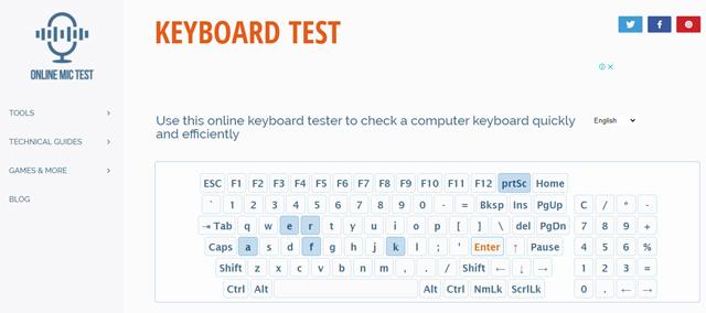 test key