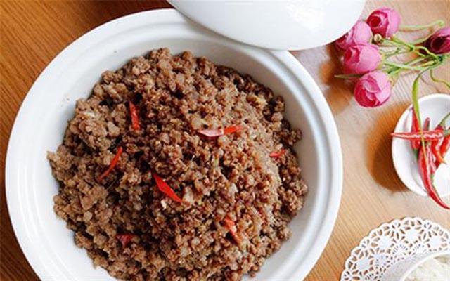 Các món ăn từ thịt băm
