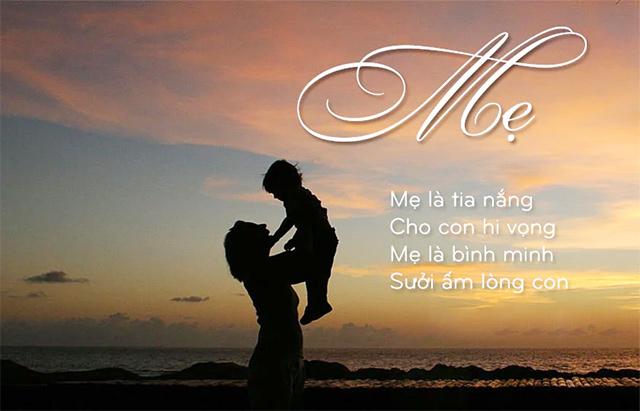 Thơ 4 chữ về mẹ