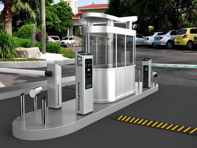 Mô hình bãi gửi xe thông minh