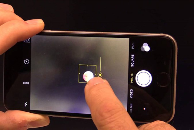 cách chụp siêu trăng bằng điện thoại
