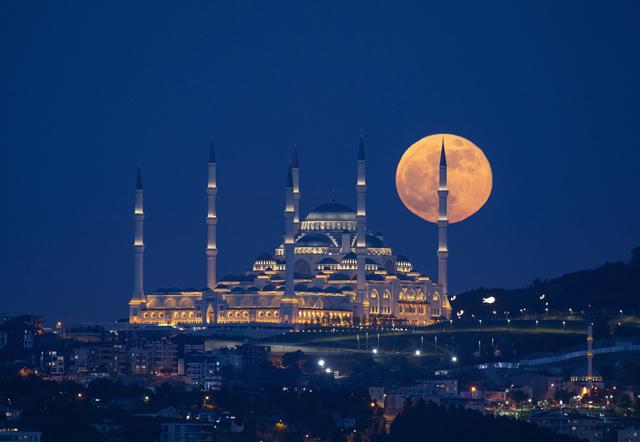ngắm siêu trăng