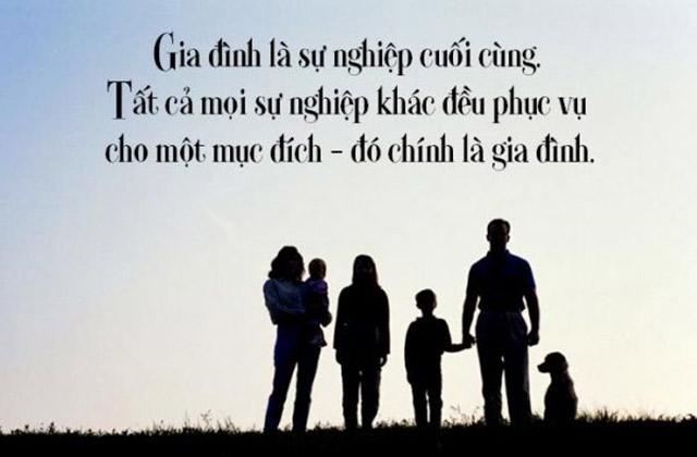stt về gia đình và cuộc sống