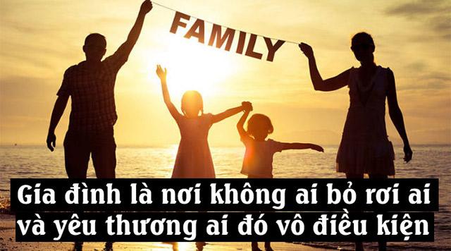 stt về gia đình hạnh phúc