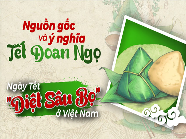 Tết Đoan Ngọ là một trong những dịp lễ quan trọng của bà con nông dân