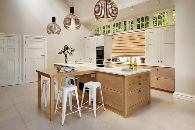 Thiết kế phòng bếp nhỏ gọn