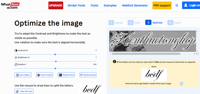 cách tìm font chữ qua hình ảnh