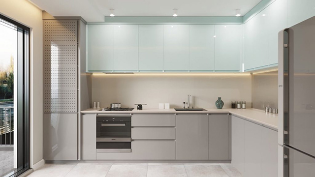 trang trí nhà bếp nhỏ gọn