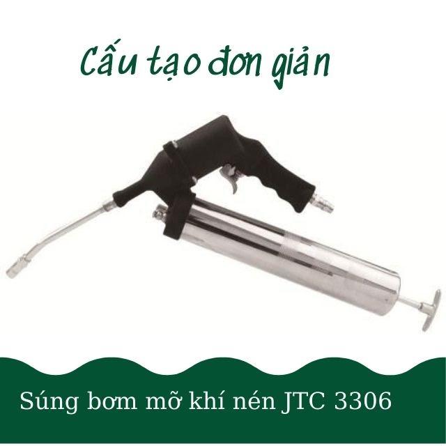 Súng bơm mỡ dùng khí nén JTC-3306