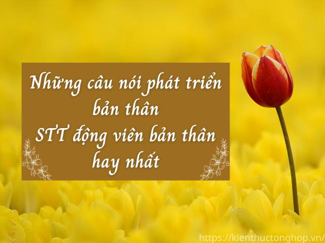 Những châm ngôn tích cực giúp thay đổi bản thân