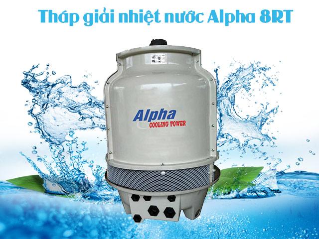 Kết cấu chắc chắn của tháp giải nhiệt Alpha 8RT