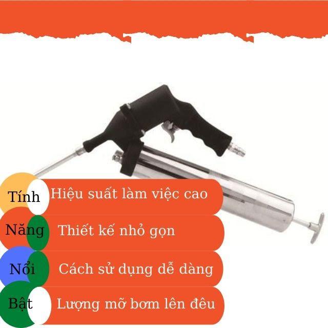 súng bơm mỡ mini jtc 3306