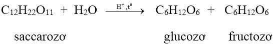 công thức cấu tạo của Saccarozo (C12H22O11)